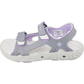 Columbia Techsun Vent Sandals Kids tradewinds grey/white violet